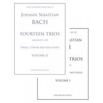 Fourteen Trios (arr.) for Viol Trio: Each Volume