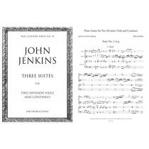 Three Suites for Two Division Viols and Continuo