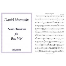Nine Divisions for Bass Viol
